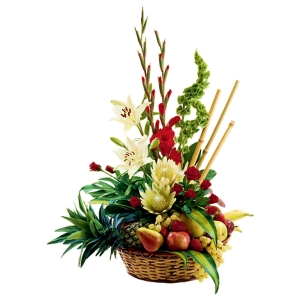 Flower Basket - Fruit of the Forest