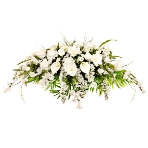 Funeral Flowers - Sympathy All White